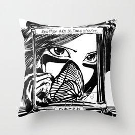 Hikikomori Throw Pillow