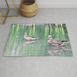 Two Ducks Rug