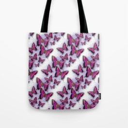 Butterflies African Kente Cloth Inspired Tote Bag