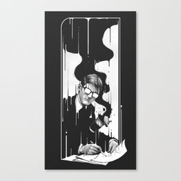 I Spilled Canvas Print