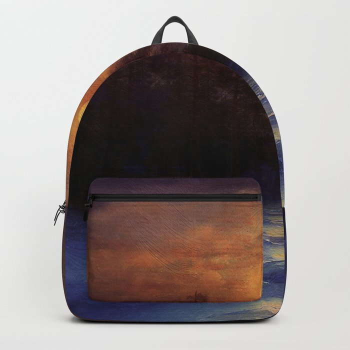 Hope in the blue water Backpack