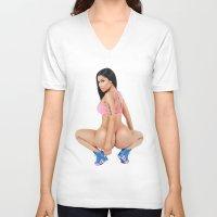 minaj V-neck T-shirts featuring MY ANACONDA by Nicki Minaj Spain