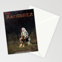 The Ravisher movie poster by Cameron Cox Stationery Cards