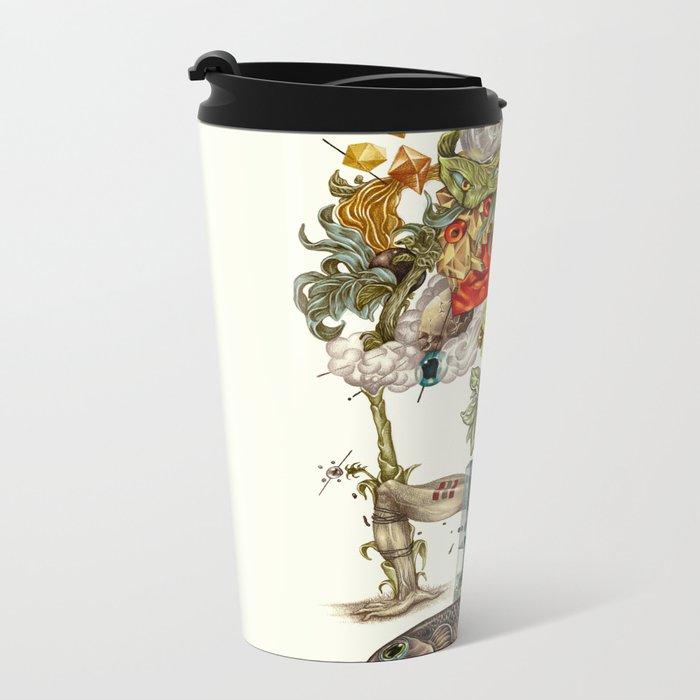 compositions Naturally Metal Travel Mug