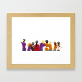 Heroes of Olympus Framed Art Print