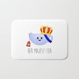 Her Majest-tea Bath Mat