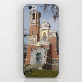 Kaplica Swiatopelk Mirskich iPhone Skin
