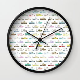 Stepping Out  Wall Clock