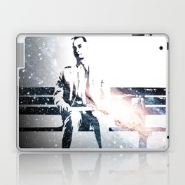FORREST ON A BENCH & COSMOS Laptop & iPad Skin