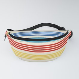 Takatora - Classic Retro Stripes Fanny Pack
