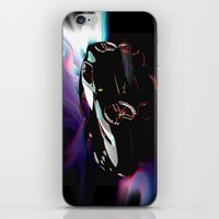 ferrari iPhone & iPod Skins featuring New Ferrari by JT Digital Art