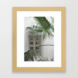 ORIENT garden dreams Framed Art Print