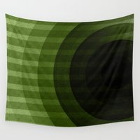 circles Wall Tapestries featuring circles by VanessaGF