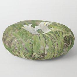 Wild Iris Floor Pillow