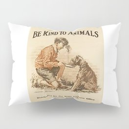 Be Kind To Animals 3 Pillow Sham
