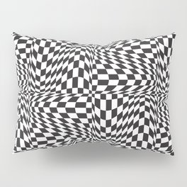 Check Twist Pillow Sham