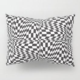 Check Twist Pillow Sham
