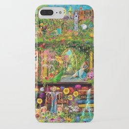 The Secret Garden Book Shelf iPhone Case