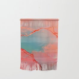 BETTER TOGETHER - LIVING CORAL by MS Wall Hanging