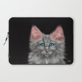 Smokey Cat Laptop Sleeve