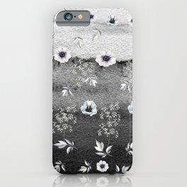 Winter Flower Garden iPhone Case