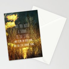 May You Stay Forever Young Stationery Cards