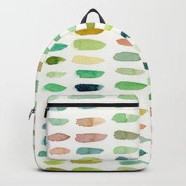 Verdant Brush Lines Backpack
