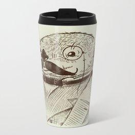 Proper Mr. Otter Metal Travel Mug