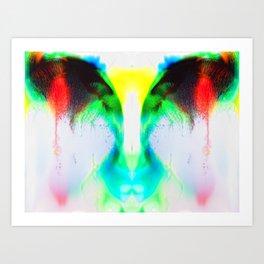 Tears of a Stranger Art Print