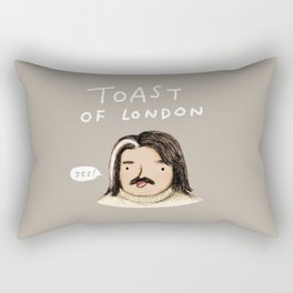 Toast of London Rectangular Pillow