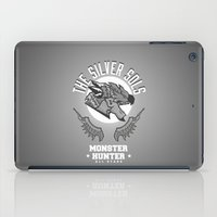 monster hunter iPad Cases featuring Monster Hunter All Stars - The Silver Sols by Bleached ink