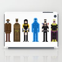 watchmen iPad Cases featuring 8-bit Watchmen by MrHellstorm