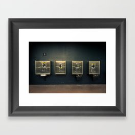 Do You Accept The Charges? Framed Art Print
