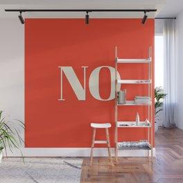 No Wall Mural