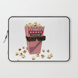 Buttered Popcorn and 3D Movie glasses Laptop Sleeve