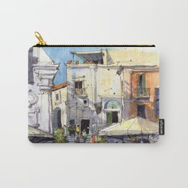 Strolling in Capri Carry-All Pouch