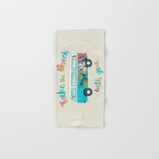 Take The Beach With You Hand & Bath Towel