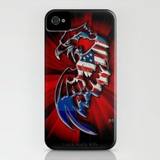 Patriotic Eagle Slim Case iPhone (4, 4s)