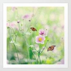 In the garden of bliss Art Print