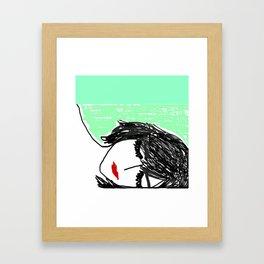 Watch You Sleep Framed Art Print