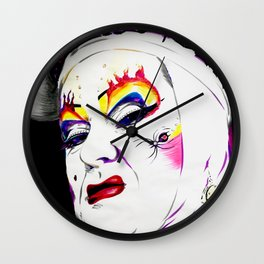 Sister Nora Torious Wall Clock