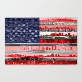 My America Canvas Print