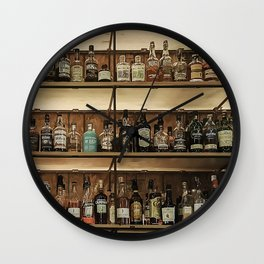 Bottles Plenty Wall Clock