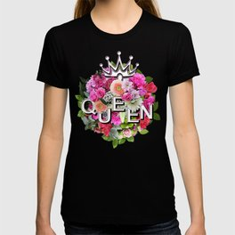 Queen Floral Bouquet T-shirt