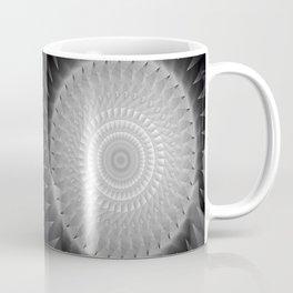 Gray Kaleidoscope Art 2 Coffee Mug