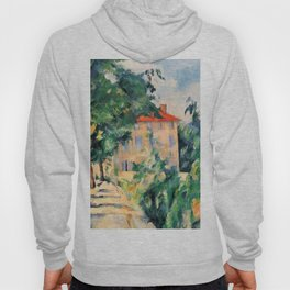 """Paul Cezanne """"House with red roof"""", 1890 Hoody"""