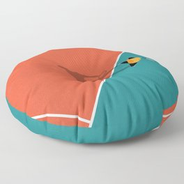 Tennis Minimalism  Floor Pillow
