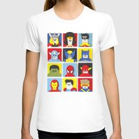 heroes T-shirts featuring Felt Heroes by Jacopo Rosati