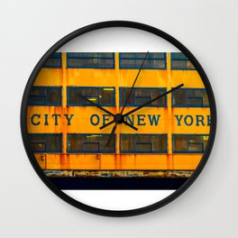 City of New York (Ferry) Wall Clock