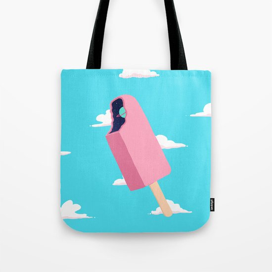 Creamsicle To Another Dimension...  Tote Bag